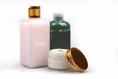 装饰性的产品skincare 库存照片