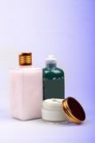 装饰性的产品skincare 免版税库存照片