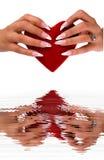 装饰性的指甲盖 免版税库存图片