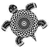 装饰抽象乌龟 库存图片
