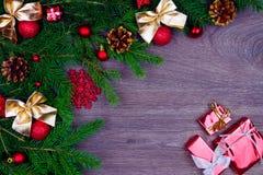 装饰新年度 免版税库存照片