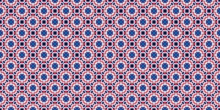 装饰无缝的模式 抽象几何背景 免版税库存照片