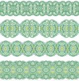 装饰无缝的模式 免版税库存图片