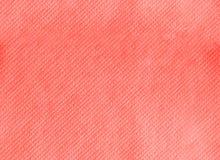 装饰无缝的纹理的纸巾 居住的珊瑚颜色背景 年的颜色2019年 主要趋向概念 库存照片