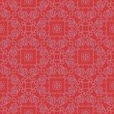 装饰无缝颜色传染媒介花卉3d样式的设计 库存例证