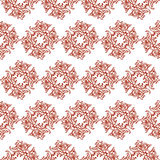 装饰样式书法漩涡 向量例证