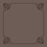 装饰框架葡萄酒 免版税图库摄影