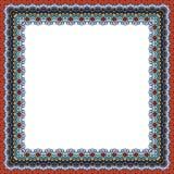 装饰框架边界样式 库存例证
