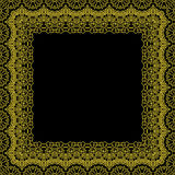 装饰框架边界样式 向量例证