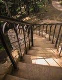 装饰楼梯 库存照片