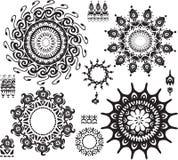装饰模式集 向量例证