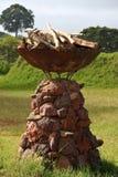 装饰火坑坦桑尼亚 免版税库存照片