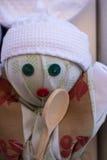 装饰烹调玩偶 免版税库存图片