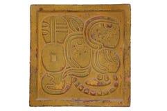 装饰玛雅人样式墙壁 免版税图库摄影