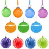 装饰球的圣诞节 免版税库存照片
