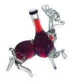 装饰瓶雄鹿Foxovsky 免版税库存照片