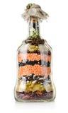 装饰瓶 免版税库存照片