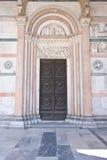 装饰的入口,大理石 免版税库存图片