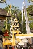 装饰的印度寺庙,努沙Penida,印度尼西亚 免版税库存照片