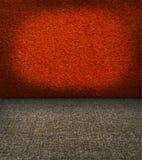 装饰的原始赤土陶器纺织品墙壁 免版税库存图片