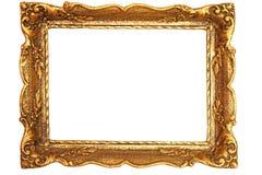 装饰的古色古香的绘画框架 免版税库存照片