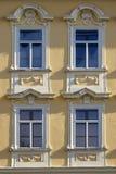 装饰的城堡视窗 库存图片