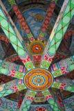 装饰的塔天花板 免版税库存图片