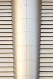 装饰的墙壁是金属 免版税库存图片