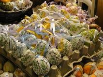 装饰的复活节彩蛋在萨尔茨堡 免版税库存图片