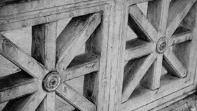 装饰的大理石细节  免版税库存照片