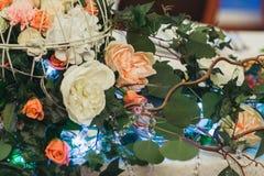 装饰的婚姻的花 免版税库存图片