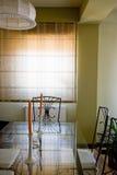 装饰的客厅 库存照片