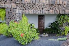 装饰的房子 免版税库存照片