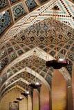 装饰的清真寺圆顶 图库摄影