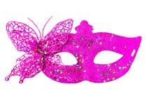 装饰的狂欢节面具 免版税库存照片