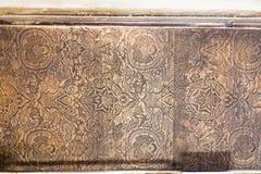 装饰的盘区在Palazzo del Te在曼托瓦 免版税库存图片