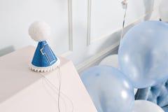 装饰的第1为一个生日 愉快的一年 免版税库存照片