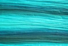 装饰的绿色围巾丝绸 库存照片
