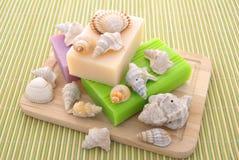 装饰的肥皂 免版税库存照片