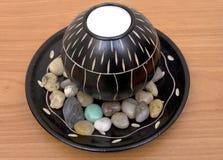 装饰的蜡烛 免版税库存图片