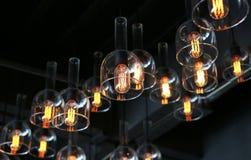 装饰的豪华照明设备 免版税库存图片