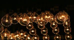 装饰的豪华照明设备 免版税库存照片