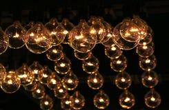 装饰的豪华照明设备 库存图片
