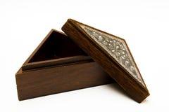 装饰的配件箱 免版税库存照片
