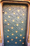 装饰的门 库存图片