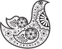 装饰的鸟 免版税库存图片