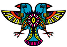 装饰的鸟 皇族释放例证