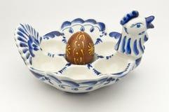 装饰的鸡蛋 免版税库存照片