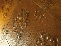 装饰皮革 免版税库存图片