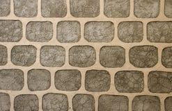 装饰石头墙壁  免版税库存照片